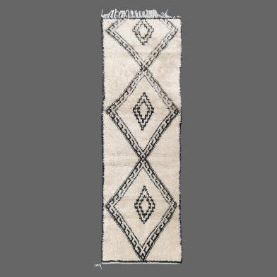Tapis de Beni Ouarain, Tapis Berbere, tapis couloir