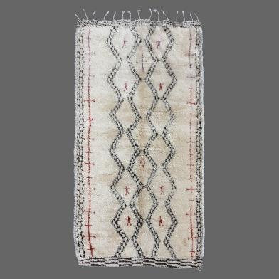 Tapis de Béni Ouarain Ancien, Vintage Béni Ouarain rug