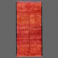 Il y aura de nombreux endroits pour placer ce merveilleux tapis rouge de la tribu de Beni M'Guild.