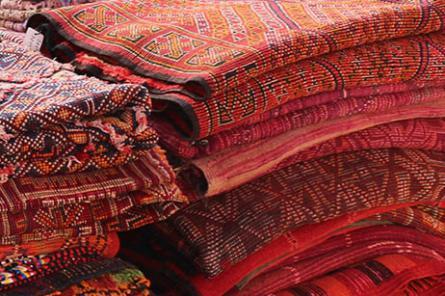 Ensemble de tapis berbères